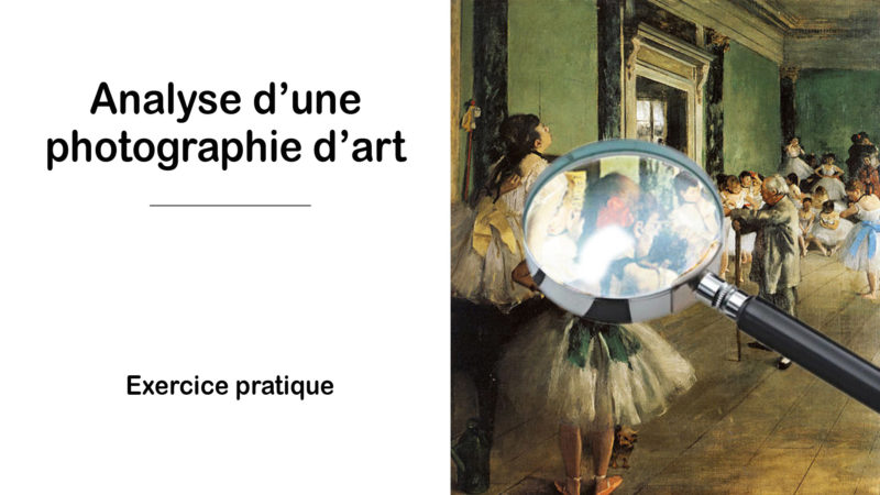 Read more about the article Analyse d'une photographie d'art – Exercice 1