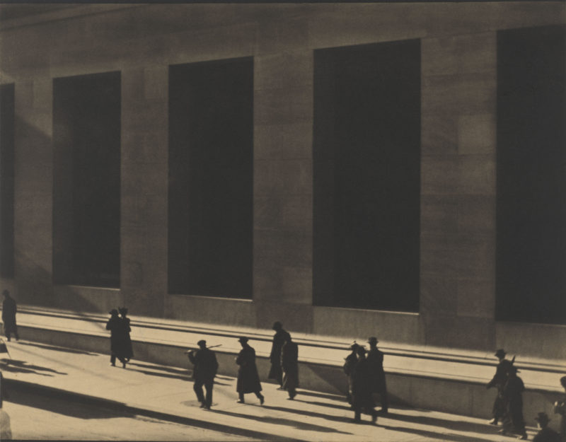 wall street new york 1915 by paul strand