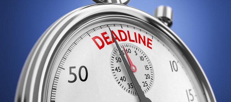 Respect des deadlines