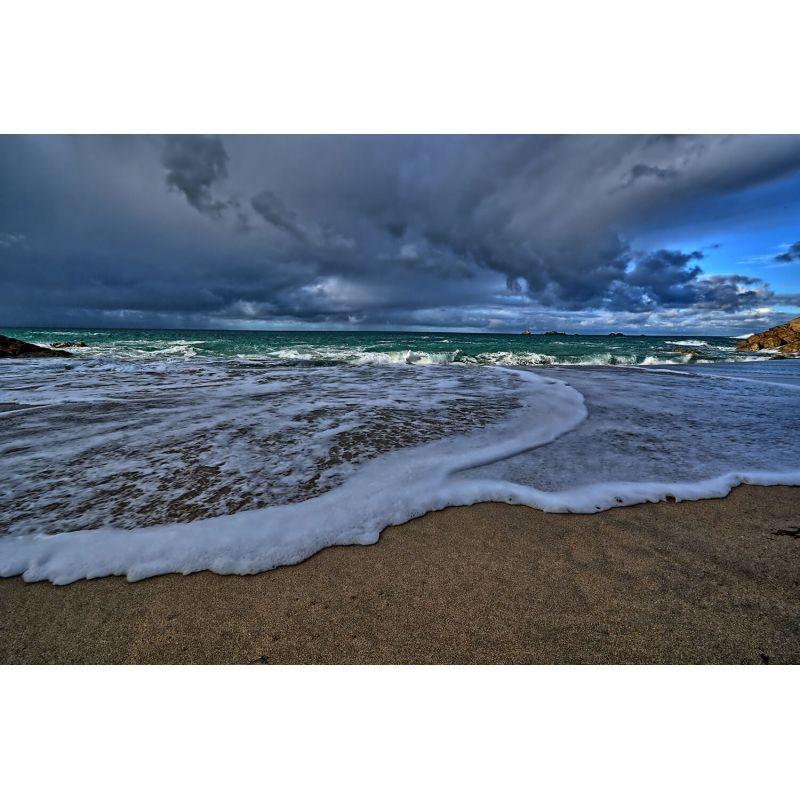 Photographie d'art présentant un paysage marin - MARÉE MONTANTE par Steve Maudet